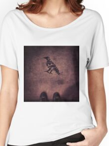 """""""Quoth the Raven, Nevermore."""" Women's Relaxed Fit T-Shirt"""