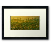 New England Pastorale 2 Framed Print