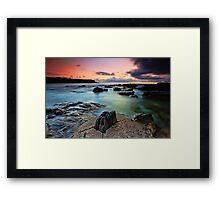 Cracked... Framed Print