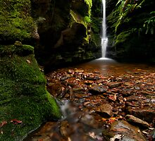 Secret Falls, Hobart Tasmania by NickMonk
