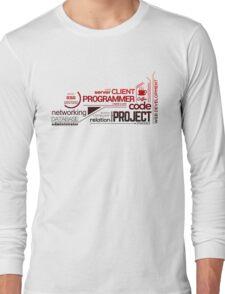Programmer : Typography Programming - 2 Long Sleeve T-Shirt