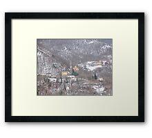 """...a surreal landscape....Guendalyn nel """"Paese delle Meraviglie   """".... 450 VISUALIZZAZIONI AL 20 APRILE 2012 ---RB VETRINA 24 FEBBRAIO 2012--- Framed Print"""