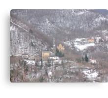 """...a surreal landscape....Guendalyn nel """"Paese delle Meraviglie   """".... 450 VISUALIZZAZIONI AL 20 APRILE 2012 ---RB VETRINA 24 FEBBRAIO 2012--- Canvas Print"""