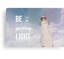Be your own guiding light Canvas Print