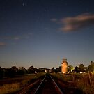 Down the track by Peter Doré