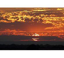 """Sunset at 3338"" Photographic Print"