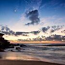 Coastal sunrise by Adriano Carrideo
