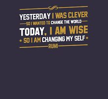 typography quote rumi Unisex T-Shirt