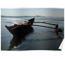Fishing Boat Loaded with Nets Palolem Poster