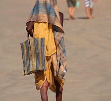 Beggar on Palolem Beach by SerenaB