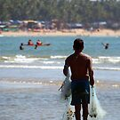 Fisherman Carrying Nets Palolem by SerenaB