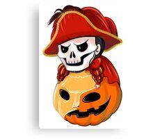 Halloween Phantom Canvas Print