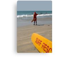 Surf Rescue Palolem Canvas Print