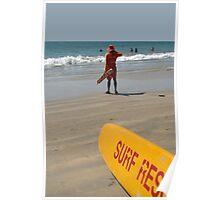 Surf Rescue Palolem Poster