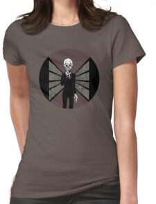 Silence In The Library Womens Fitted T-Shirt