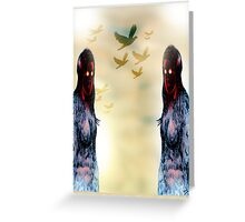 Whittle Picture Greeting Card