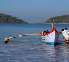 Pushing the Boat out Palolem by SerenaB