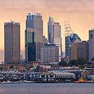 Sydney Sunset 05 16-07-09 by Chris Cohen