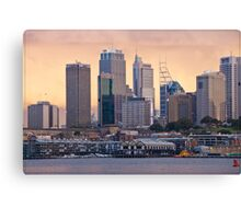 Sydney Sunset 05 16-07-09 Canvas Print
