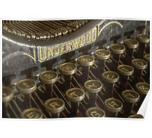 U for Underwood Poster