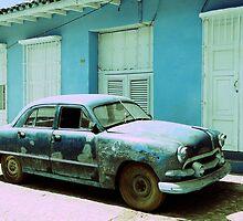 American car, Trinidad, Cuba by buttonpresser