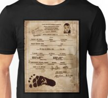 President Barack Hussein Obama's Certificate Of Birth - Birther Edition Unisex T-Shirt