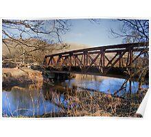 Old Mine Bridge Poster
