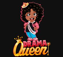 Drama Queen Womens Fitted T-Shirt