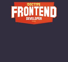 front end developer html5 Unisex T-Shirt