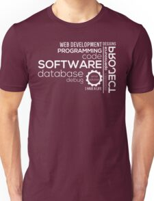 Programmer : Typography Programming Unisex T-Shirt