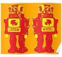 Robot Robot Poster