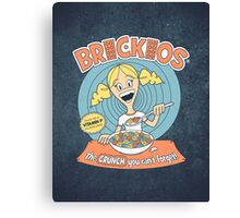 Brickios (Clean) Canvas Print