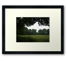 You and the Field - Andrew Framed Print