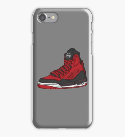Shoes Flight Red (Kicks) iPhone Case/Skin