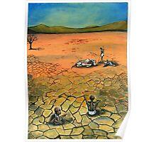 Famine Stalks The Earth Elsewhere Poster