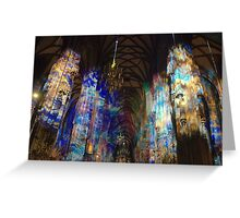 Vienna - Stephansdom. Greeting Card