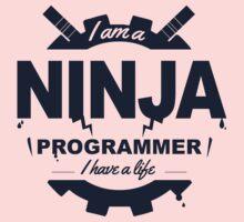 programmer : i'm a ninja programmer Baby Tee