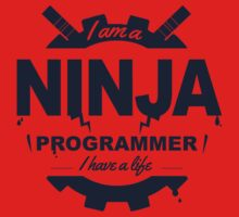 programmer : i'm a ninja programmer One Piece - Short Sleeve