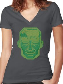 Android Dreams Women's Fitted V-Neck T-Shirt