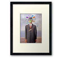 Death of an Entrepreneur.  Framed Print
