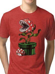 1up or nut up Tri-blend T-Shirt