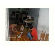 Home Life - Ni Lar Son Art Print