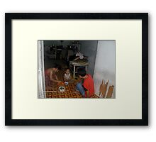 Home Life - Ni Lar Son Framed Print