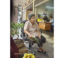 Street Woman - Ni Lar Son Photographic Print