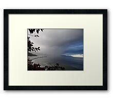 Rainy Day - Tarde lluviosa Framed Print