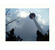 High Tower - Zaw Rein Art Print