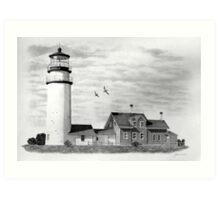 Highland Lighthouse, Cape Cod, Ma. Art Print
