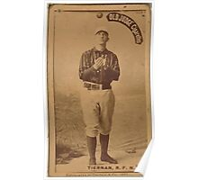 Benjamin K Edwards Collection Mike Tiernan New York Giants baseball card portrait 001 Poster