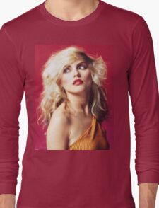 Debbie Harry, Red Long Sleeve T-Shirt