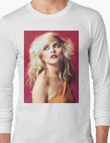 Debbie Harry, Red Long Sleeve T-Shirt